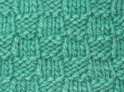 самая простая схема вязания спицами