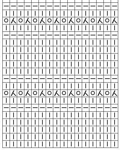 простые ажурные узоры для вязания спицами схемы