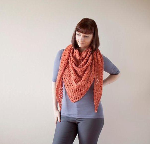 как связать шарф трансформер спицами
