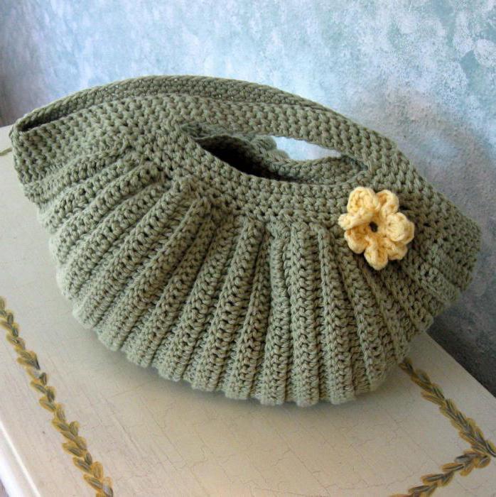 Вязание крючком сумки рюкзак