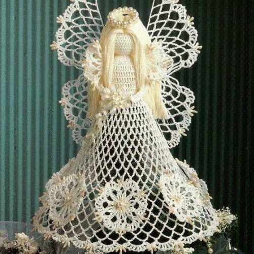 ангел крючком схема и описание