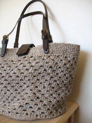 сумки крючком со схемами