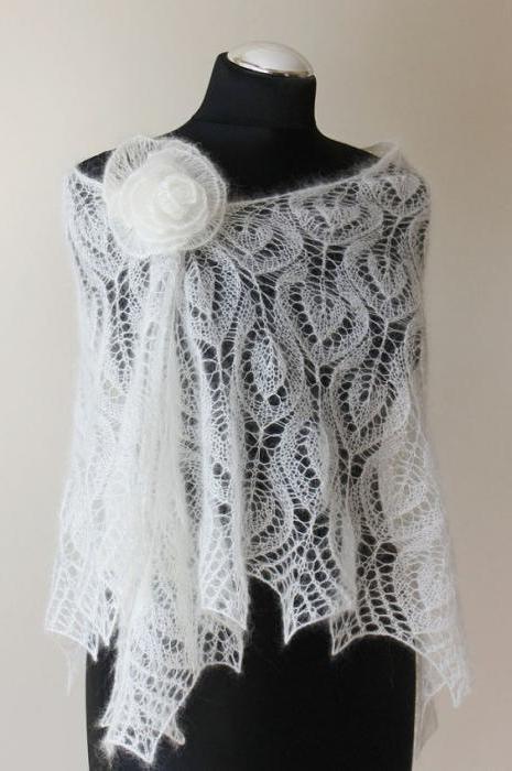 1204365 Спицами вязание косынок. Как связать косынку спицами: стильный предмет гардероба без лишних усилий