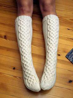 вязание носков с рисунком спицами схемы