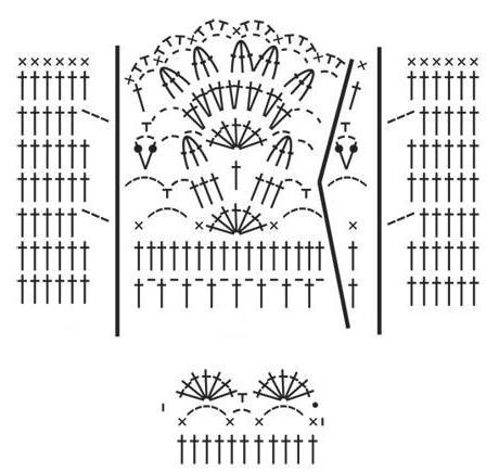схема и описание летней кофточки крючком