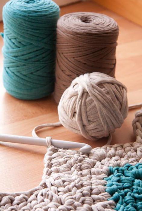 как крючком связать круглый коврик для начинающих