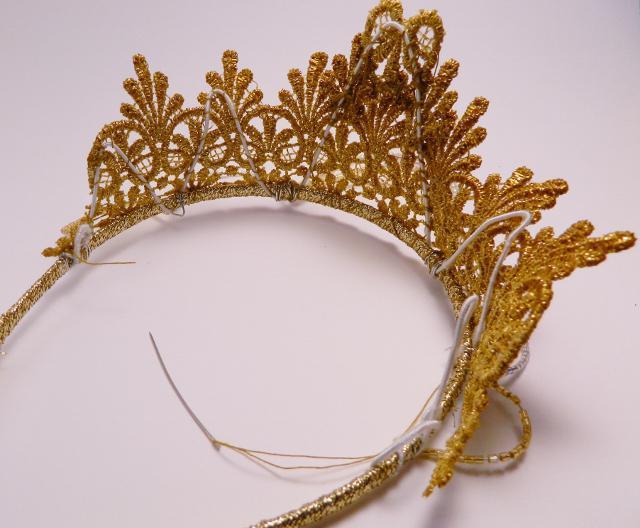 Сделать корону своими руками 20