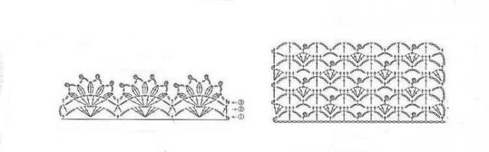 узор для вязания гетр