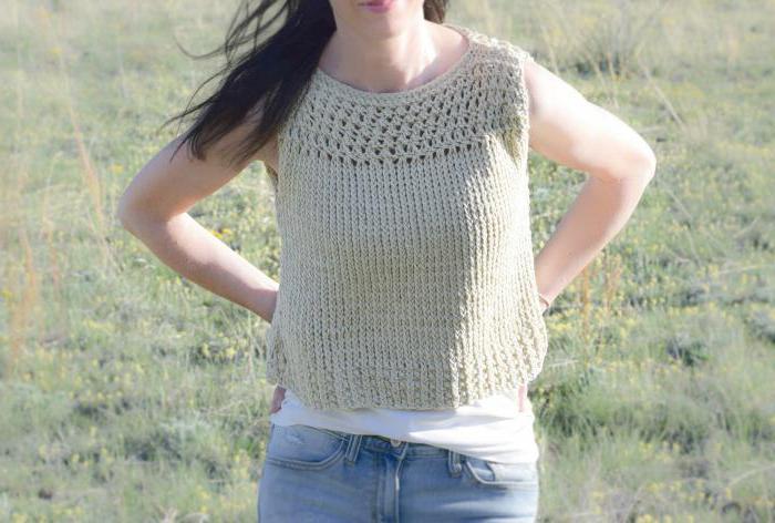 вязание летних кофточек спицами для полных женщин