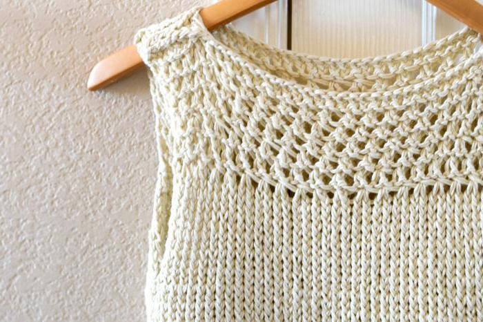 вязание летних кофточек спицами из хлопка для полных женщин
