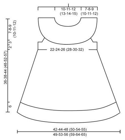 сарафан для девочки спицами схемы и описание