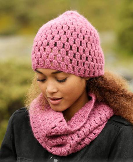 как убавлять петли при вязании шапки с косами