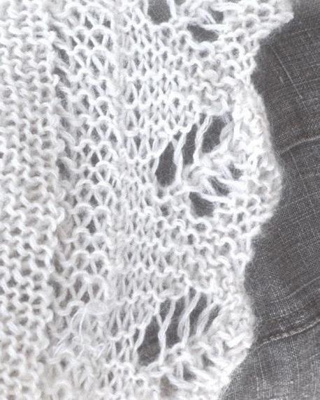 образец узора для платка