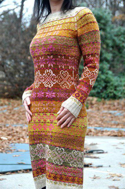 необычное вязание спицами