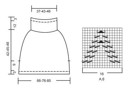 Как вязать спицами для начинающих узор зигзаг