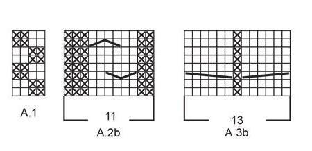 аранские узоры спицами со схемами для мужчин
