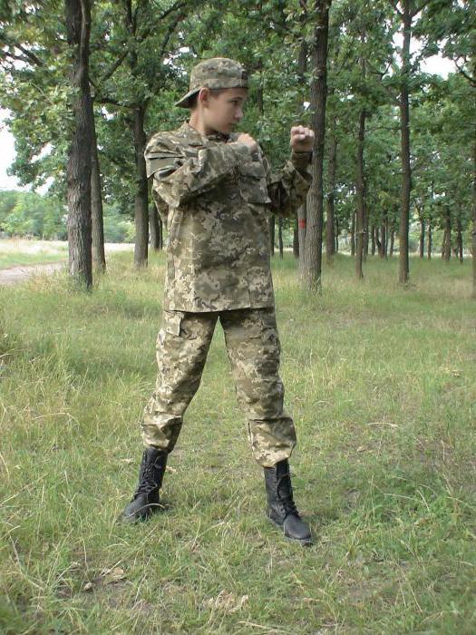 костюм детский военный выкройка