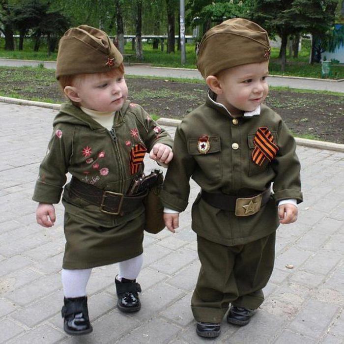 сшить детский военный костюм