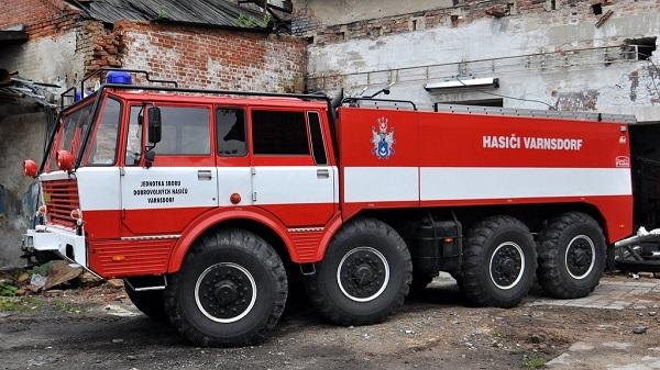 пожарный автомобиль татра 813