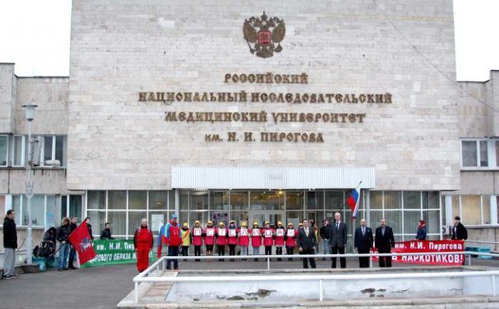Российский мед университет имени пирогова