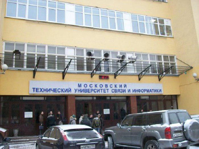 Московский технический университет связи и информатики