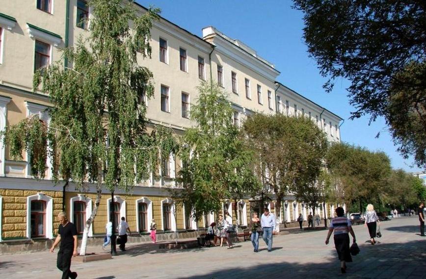 The main building of the OGPU in Orenburg