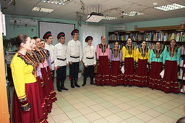 Students of the Rostov College of Culture