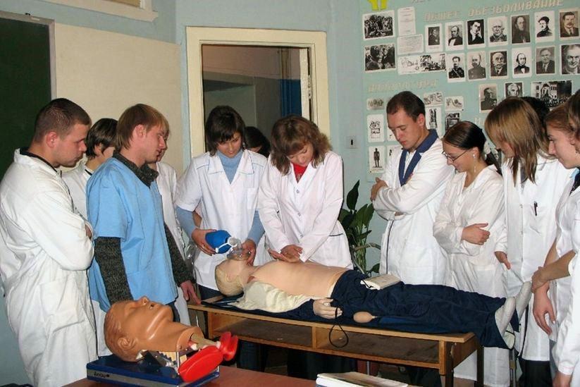 Practical classes at NWSMU