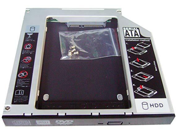 Адаптер, заменяющий DVD-привод