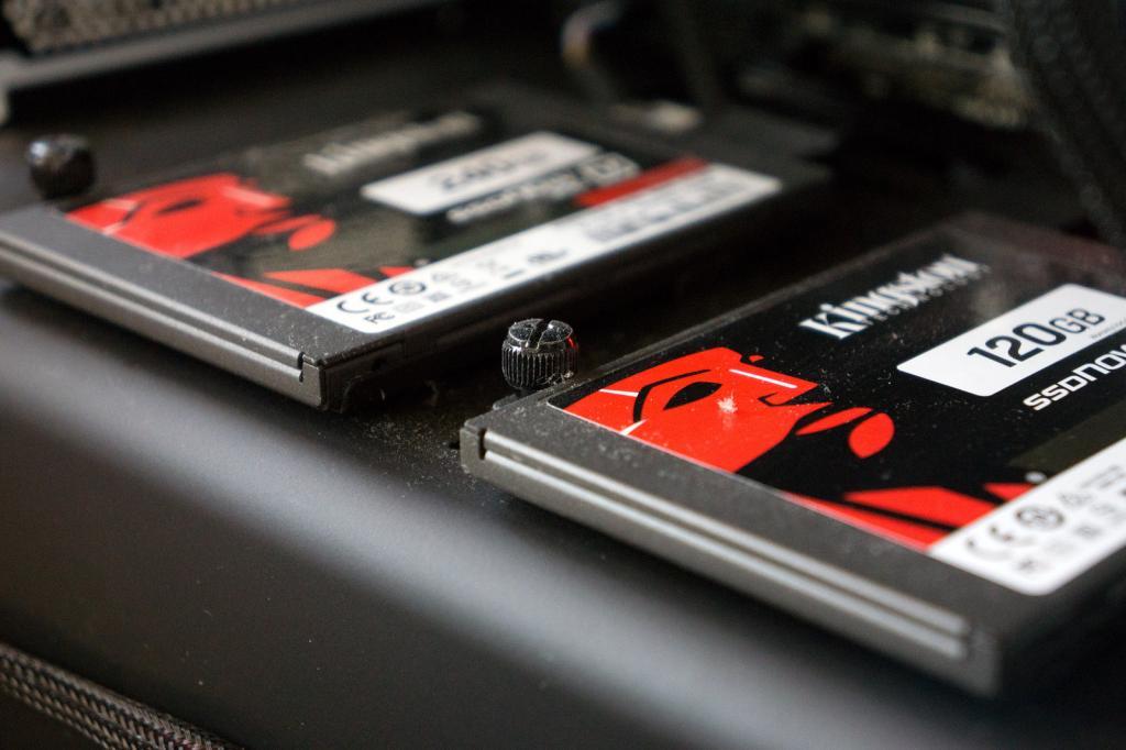 Установка SSD
