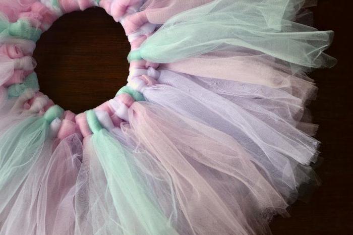 Детская пышная юбка своими руками