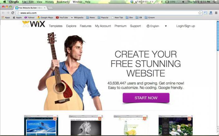 Бесплатная платформа для создания собственного сайта