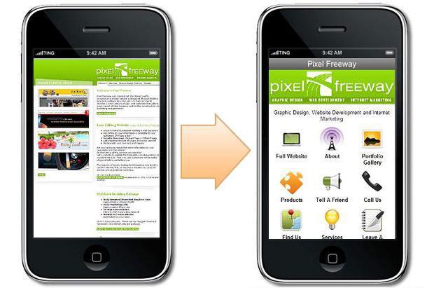 мобильная версия сайта с компьютера