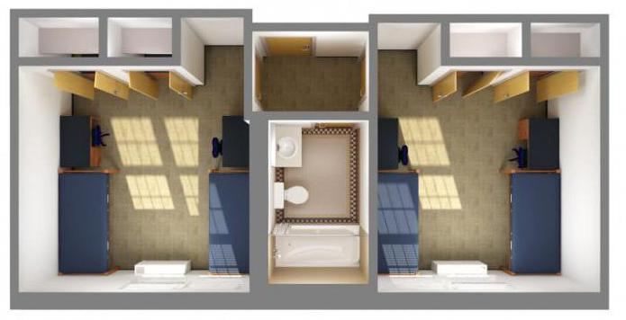 расстановка мебели в комнате с помощью программы