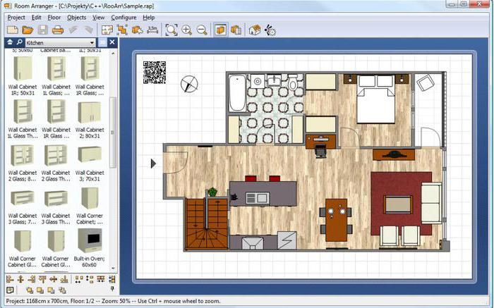 программа для расстановки мебели в комнате 3d