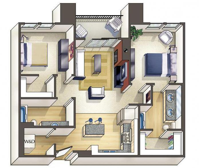 как разместить мебель в комнате с помощъю программы