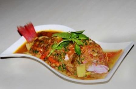 рецепт приготовить окуня морского в духовке целиком