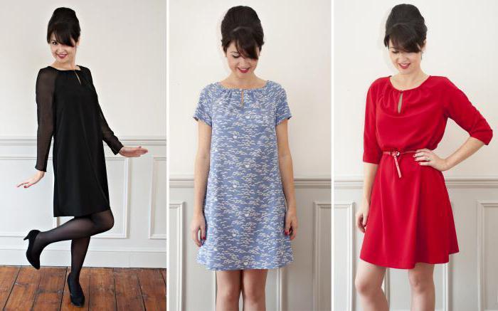 простые платья своими руками выкройки