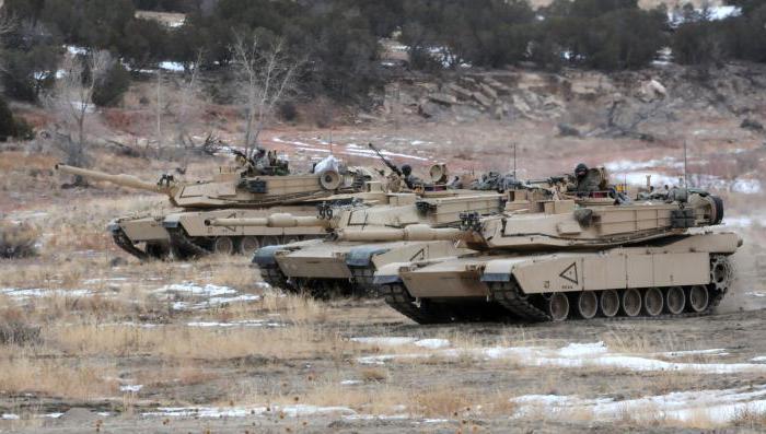 американский танк абрамс