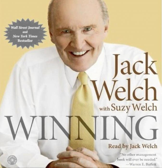 winning by jack welch essay Free essay: review of winning by jack welch when former general electric ceo jack welch reflected on the thousands of questions he has been asked over the.