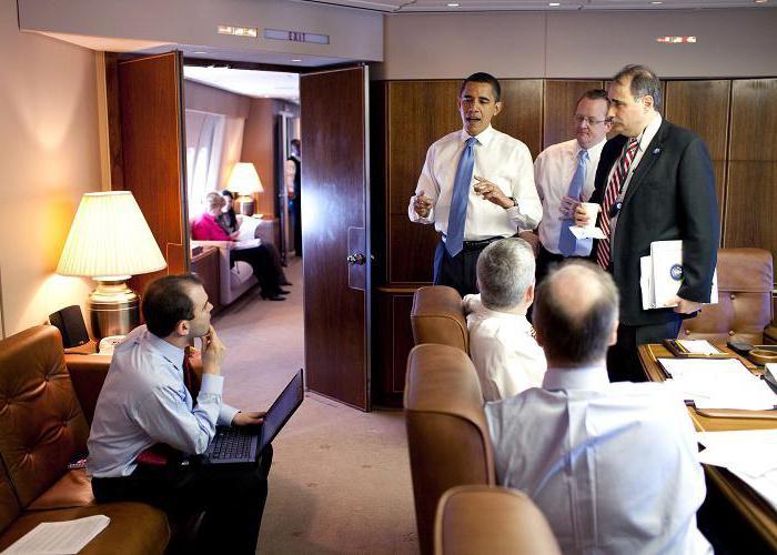 самолет президента сша внутри