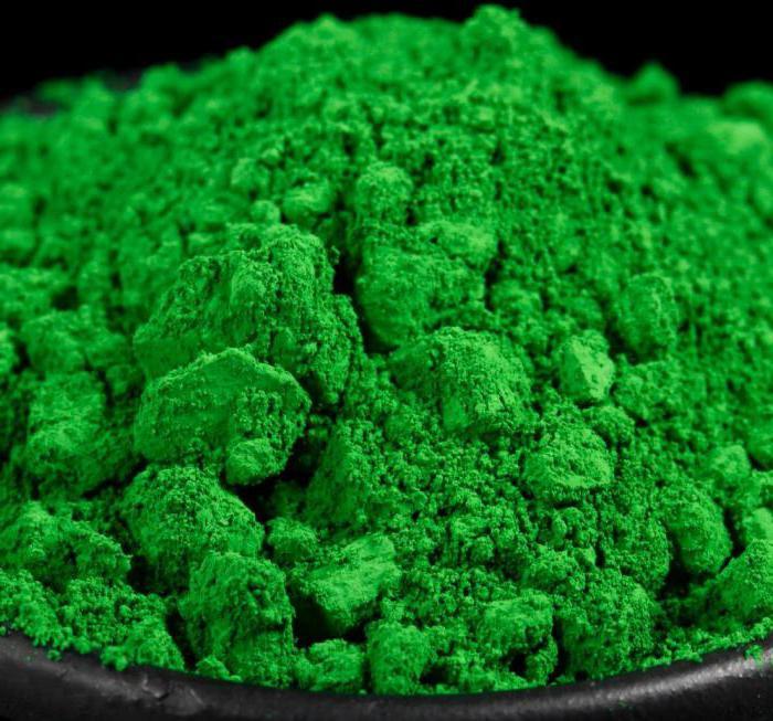 какого цвета хром химический элемент