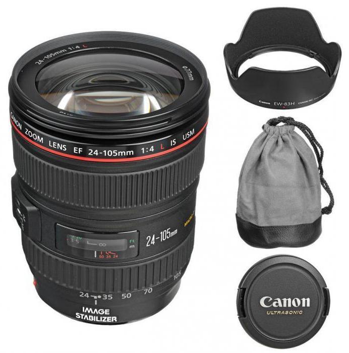 Объектив Canon 24-105mm: обзор, технические характеристики, отзывы. Canon EF 24-105mm f/4L IS USM