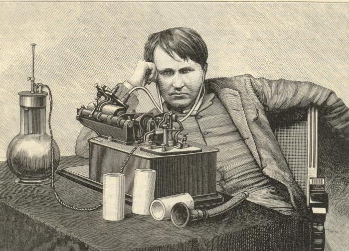 Томас альва эдисон биография