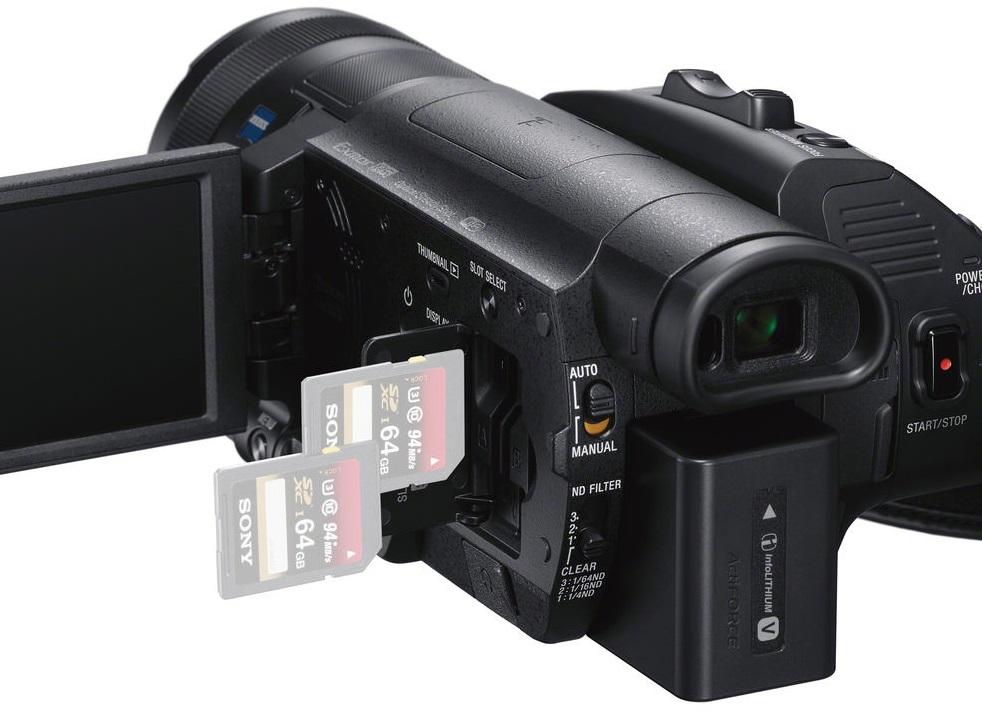 Карты памяти видеокамеры