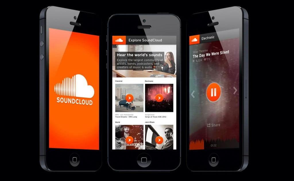 SoundCloud на iPhone