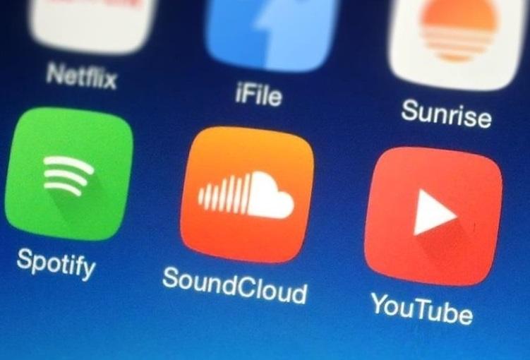 Приложение SoundCloud