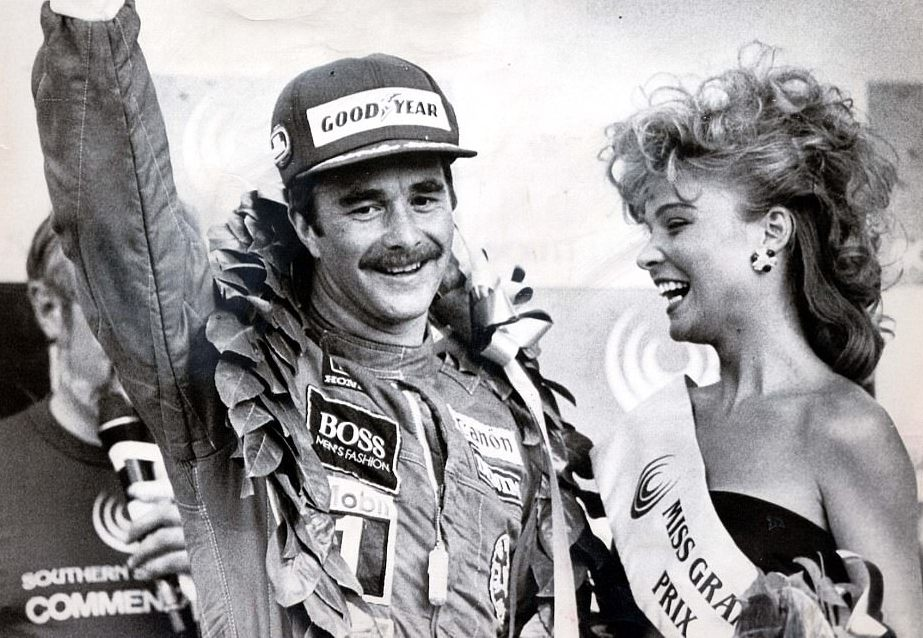 Mansell's victory in 1985