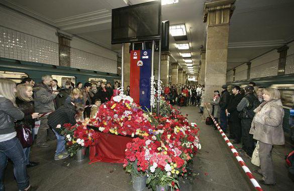 взрыв в метро лубянка и парк культуры фото