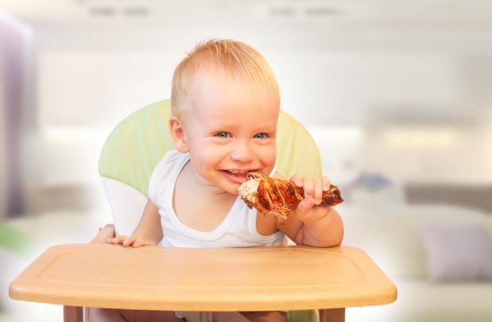 С какого возраста можно давать ребенку мясо